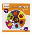 Yuvarlak Puzzle Meyveler Eolo Yayınları