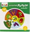 Eolo Yuvarlak Puzzle Sebzeler