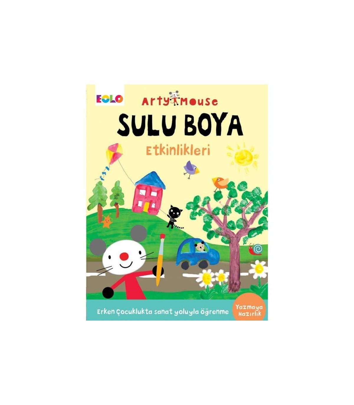 Eolo Oyuncak Ve Kitap Okul Oncesi Arty Mouse Sulu Boya