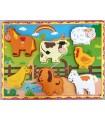 Çiftlik Hayvanları Ahşap Puzzle