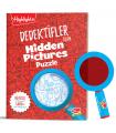 Dikkat Atölyesi Dedektifler İçin Hidden Pictures Puzzle