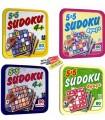 Dikkat Atölyesi 4 Yaş 5X5 Sudoku 4'lü Set